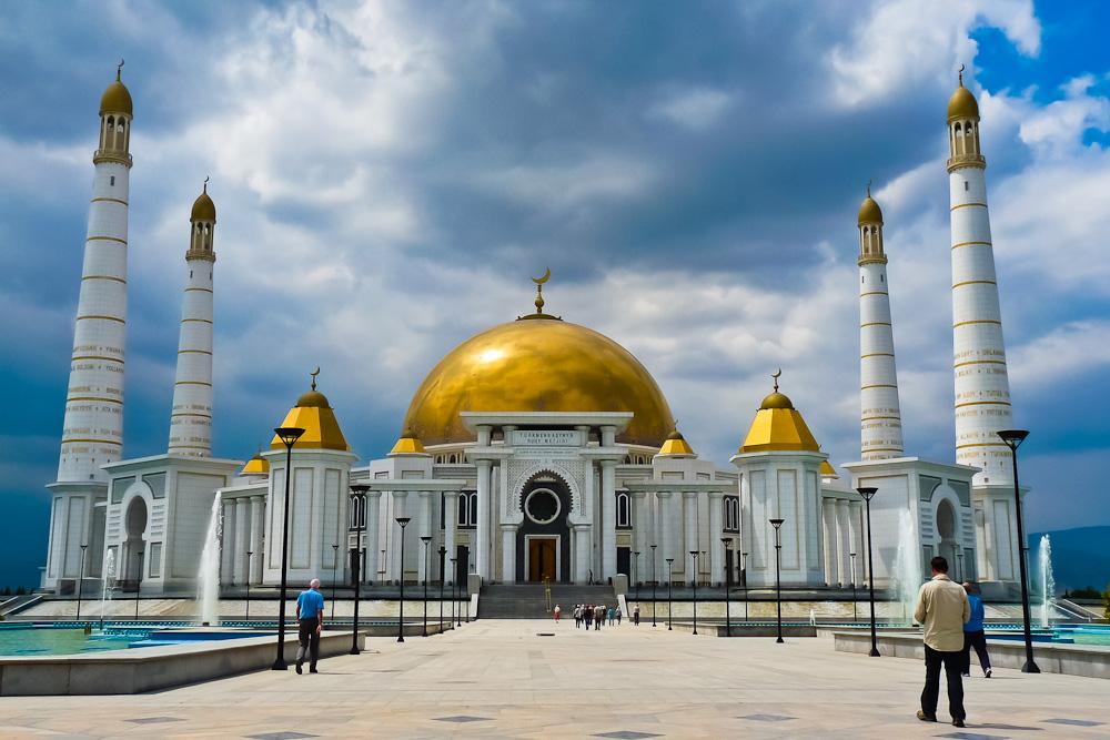 Turkmenbashi Mosque Turkmenistan